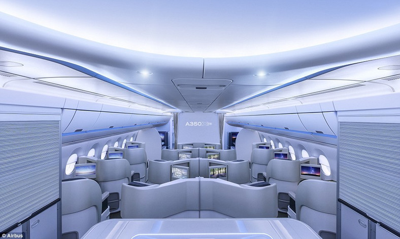 Cabin interior for the Airbus A330-800neo