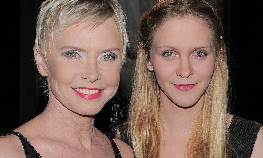 Ewa Błaszczyk z córką Marianną