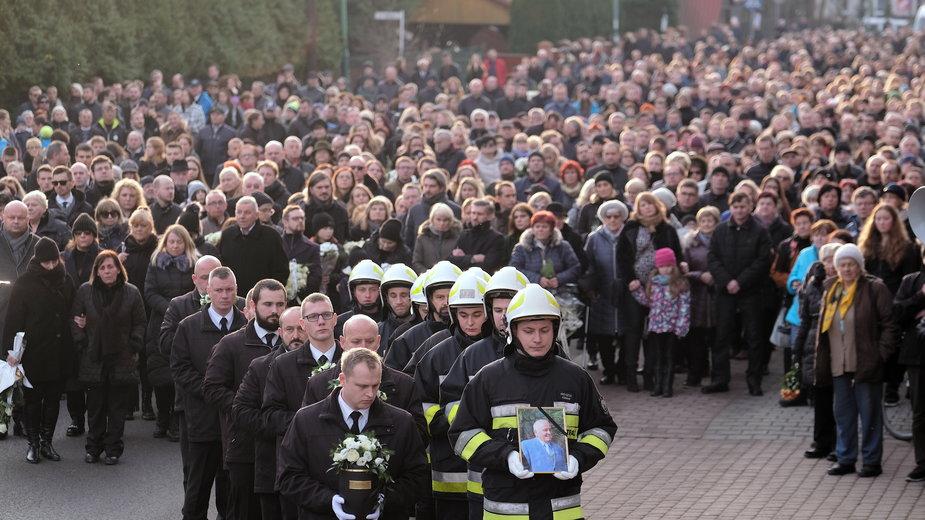 Poruszający pogrzeb rodziny Kaimów w Szczyrku