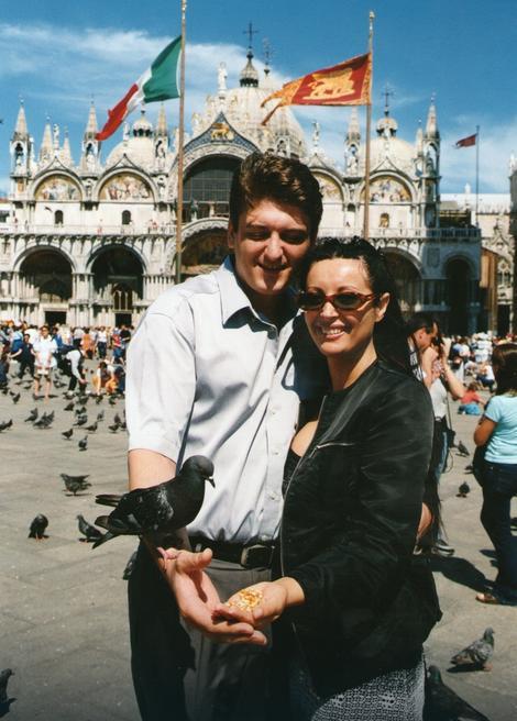 Dragana i Toni na početku veze