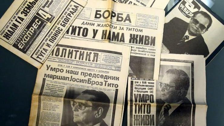 Tito naslovne strane