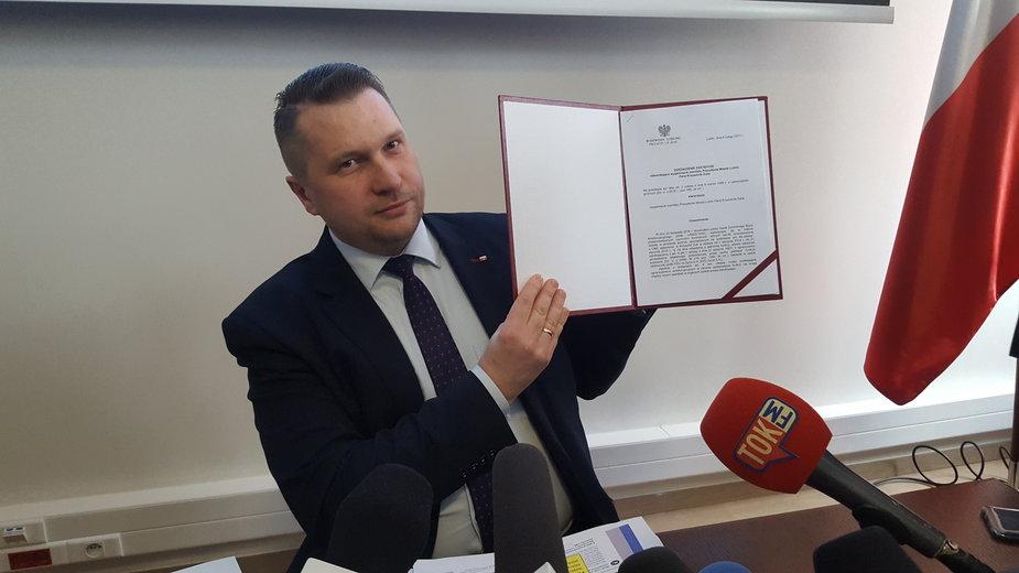 Przemysław Czarnek, fot. S. Białach
