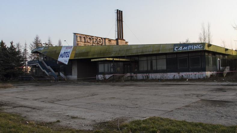 Słynny motel Krak został wyburzony w 2014 roku