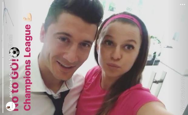Anna Lewandowska i Robert Lewandowski fot. annalewandowskahpba