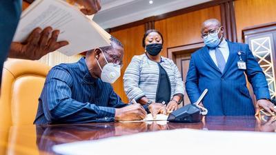 Delta Gov Okowa signs violence against persons bill into law