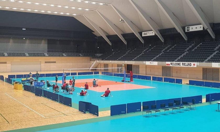 Polscy siatkarze już przygotowują się do swojego pierwszego meczu z Iranem