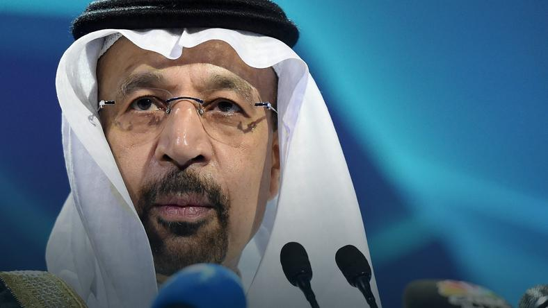 Minister energii Arabii Saudyjskiej Khalid al-Falih