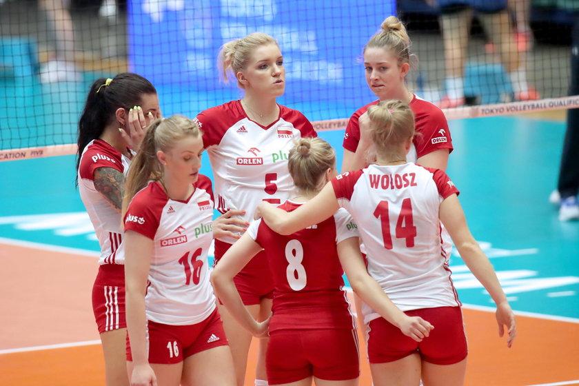 Siatkowka kobiet. Kwalifikacje olimpijskie Tokio 2020. Polska - Serbia. 04.08.2019