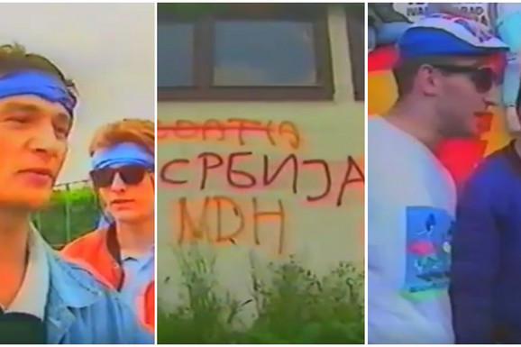 KREZUBI NADROGIRANI HULIGANI Ovako su izgledali POSLEDNJI SATI pred meč zbog kog se raspala SFRJ i sve je emitovano na TV-u! /VIDEO/