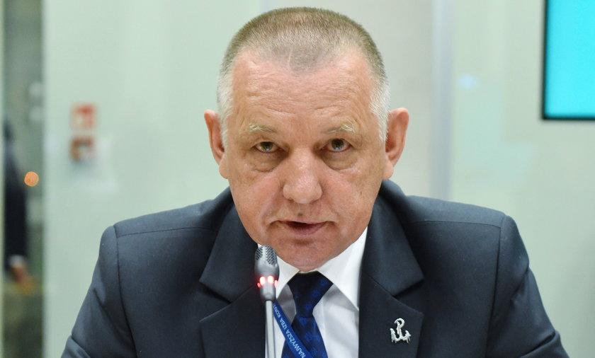 Szef NIK - Marian Banaś.