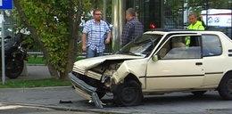 Wypadek na Domaniewskiej