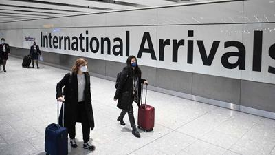Fully-vaccinated travelers from the US and EU will soon be able to enter England without quarantine, report says