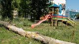 I tu mają bawić się dzieci?!