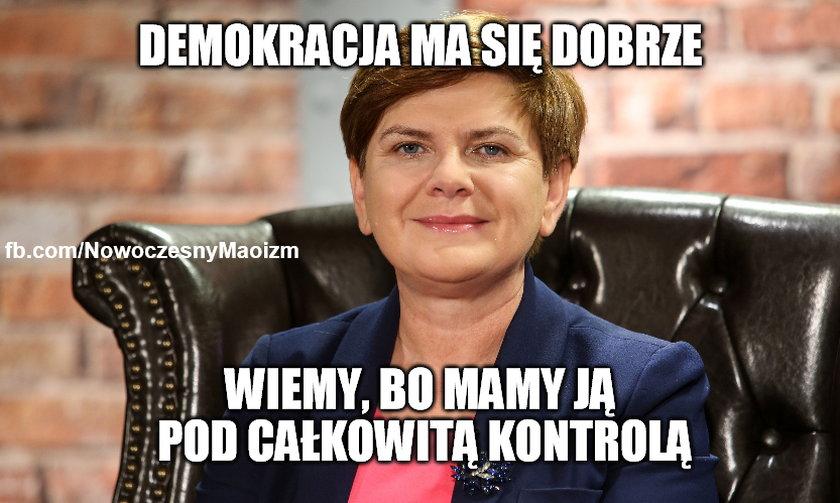 Beata Szydło - Mem