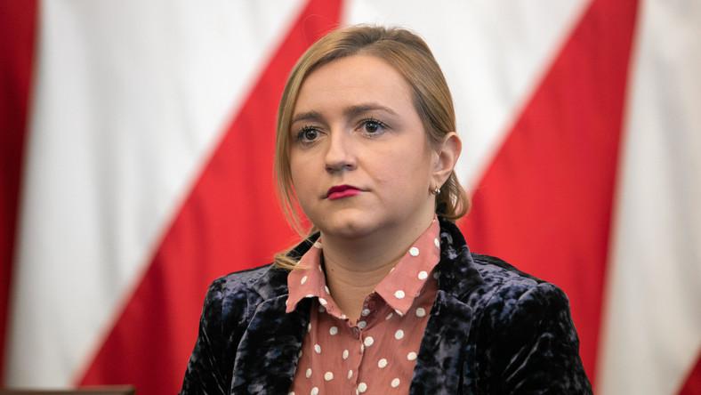 Olga Semeniuk , wiceminister rozwoju w rządzie PiS.