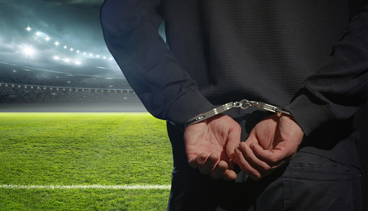 hapsenje fudbaler foto Shutterstock