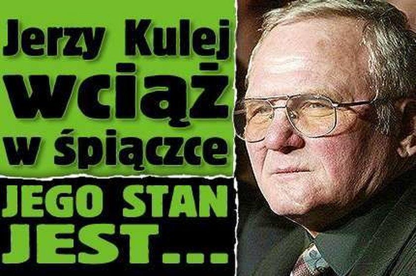 Jerzy Kulej wciąż w śpiączce. Jego stan jest...