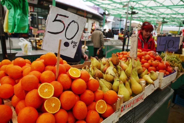 Cene voće
