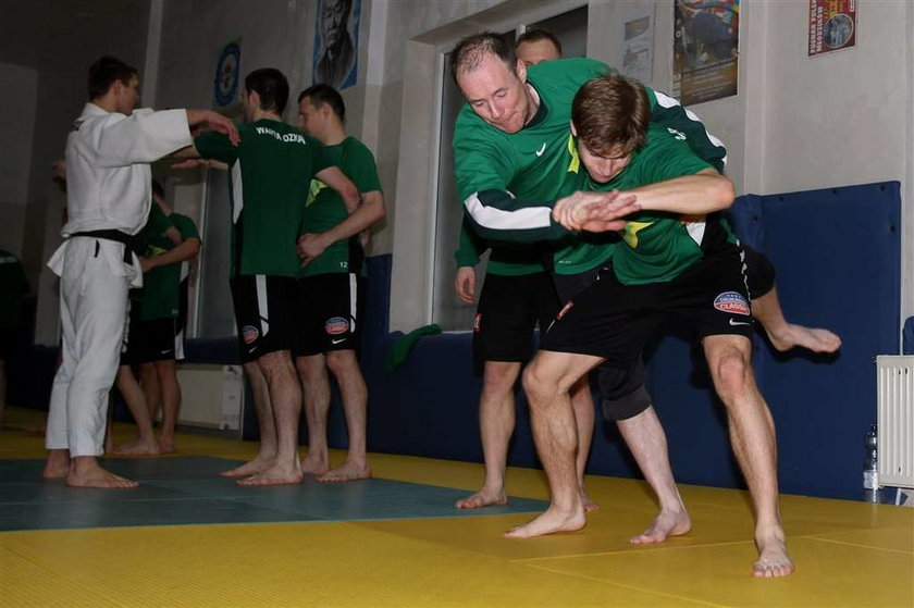 Piłkarze Polonii Bytom, Warty Poznań i GKS Katowice zaczęli ćwiczyć sztuki walki!