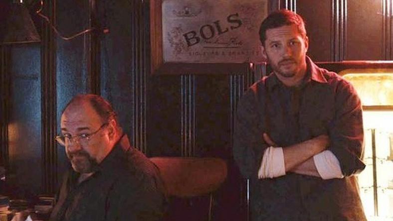 """James Gandolfini i Tom Hardy w filmie """"The Drop"""""""
