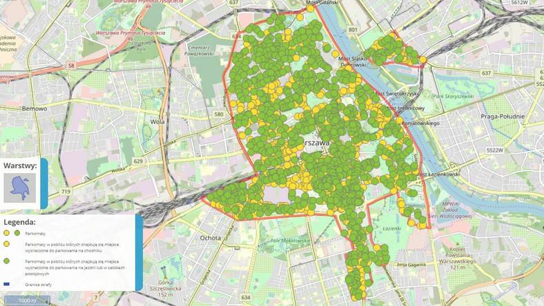 Strefa Platnego Parkowania Warszawa Abonament Dni Bezplatnego