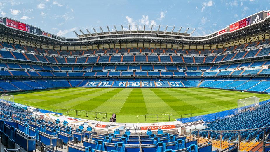 Stadion Realu Madryt Santiago Bernabéu