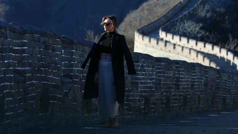 Melania Trump w Chinach