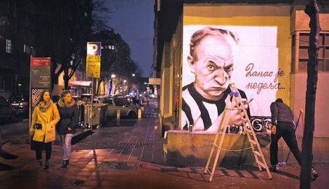 """""""TUKLI SU ME RUKAMA, GREBALI, DAVILI"""" Beograđanin je UHVATIO NA DELU huligane koji su prekrečiili grafite poznatih """"grobara"""". Ovo je njegova ispovest"""