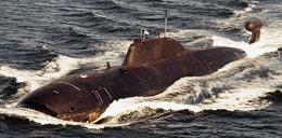 Atomowy rosyjski okręt podwodny u wybrzeży Francji