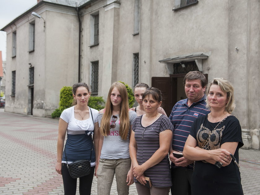 Parafianie Toszka w żałobie