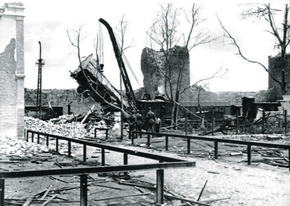 Ostaci Smederevske tvrđave nakon eksplozije