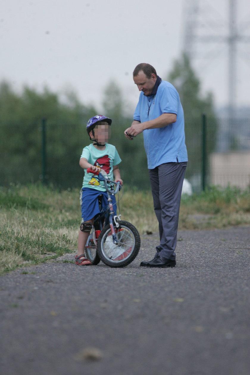 Kurski z synem