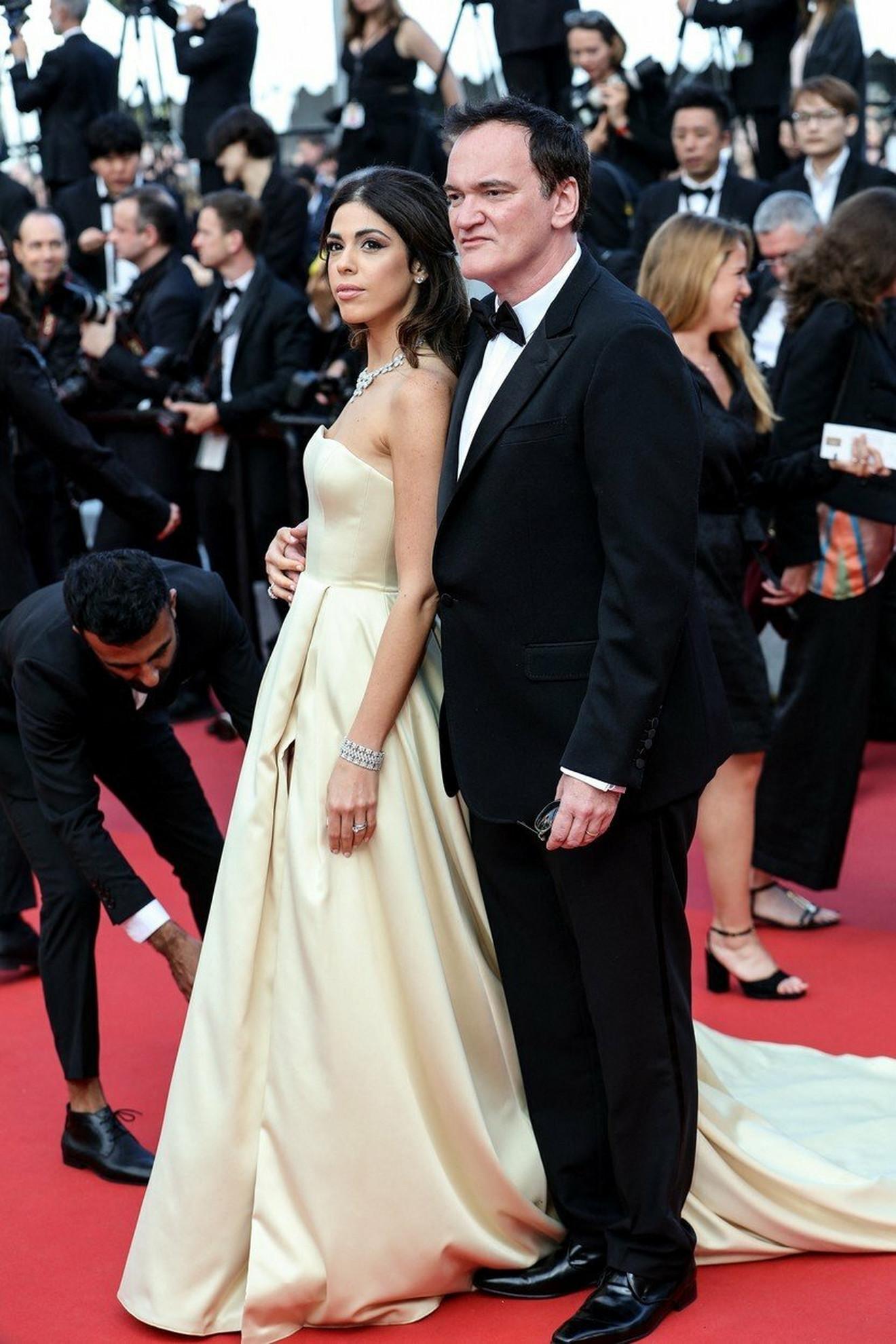 Kventin Tarantino sa suprugom Danijelom