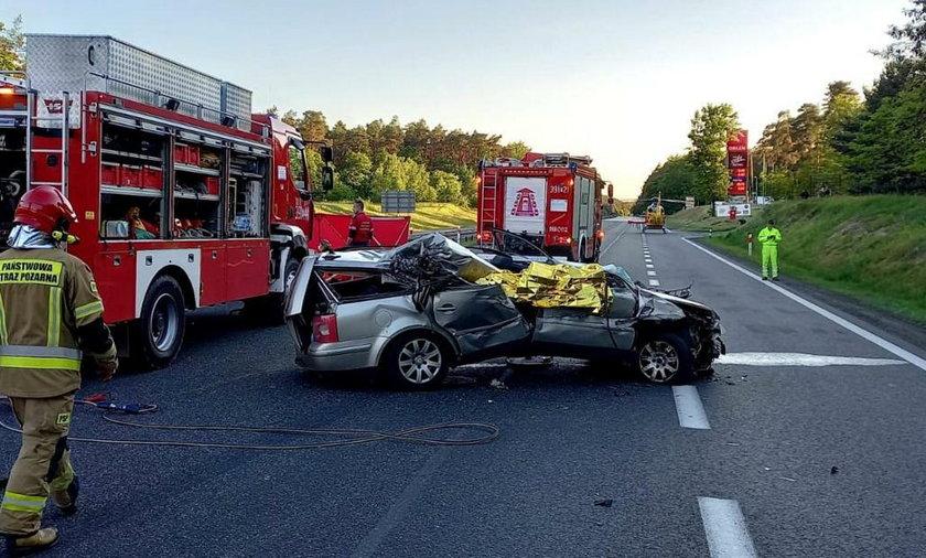Śmiertelny wypadek na autostradzie A2