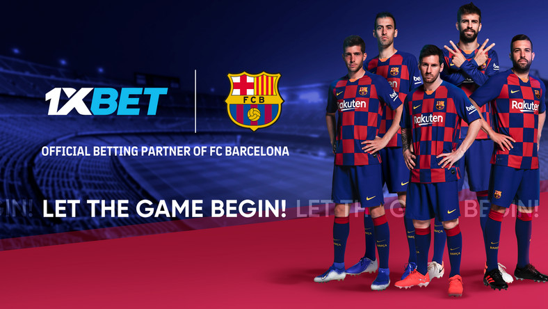 Online betting company 1xBet, new Global Partner of FC Barcelona