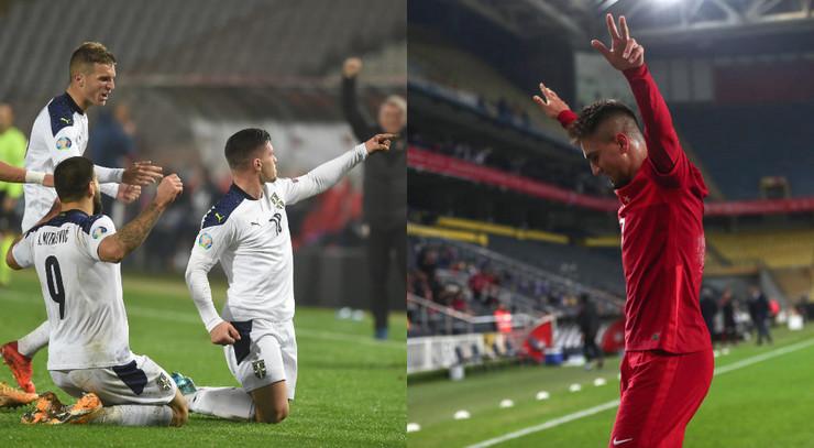 Fudbaleri Srbije i Turske