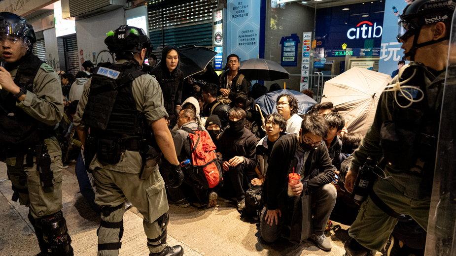 Protesty w Hongkongu w 2019 r.