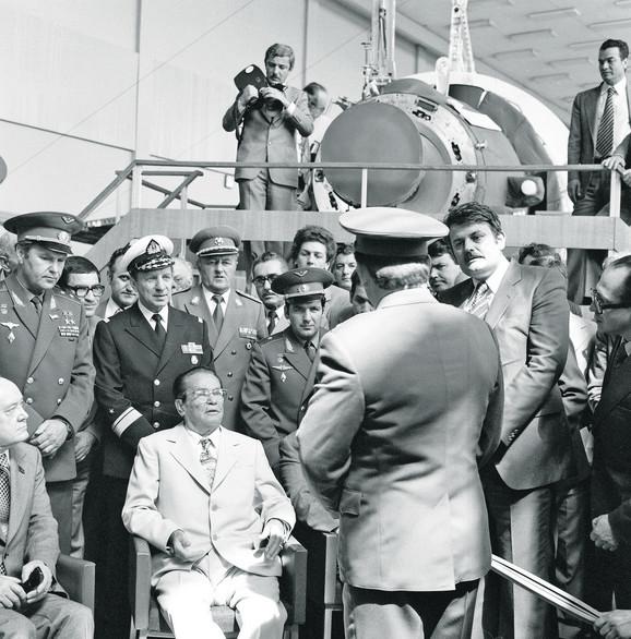 Rusija, Zvezdani grad, poslednje Titovo putovanje (1979)
