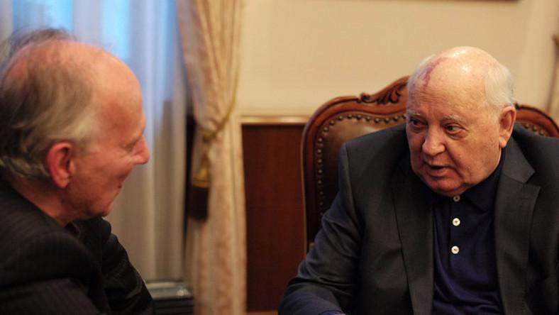 """Kadr z filmu """"Herzog/Gorbaczow"""""""