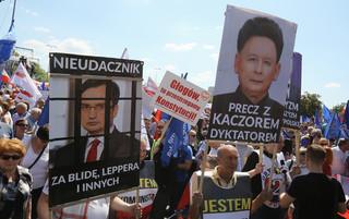 Błaszczak: Demonstracja opozycji to porażka. Miał być milion - było 45 tysięcy ludzi