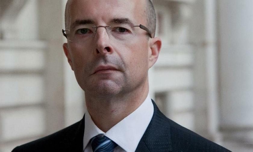 Ambasador Wielkiej Brytanii w Polsce Jonathan Knott