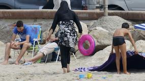 Francja: zakaz burkini rozszerzony na następne plaże