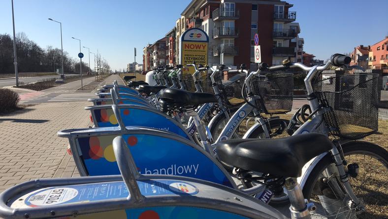 Aktywiści chcą nowych stacji rowerowych na Psim Polu