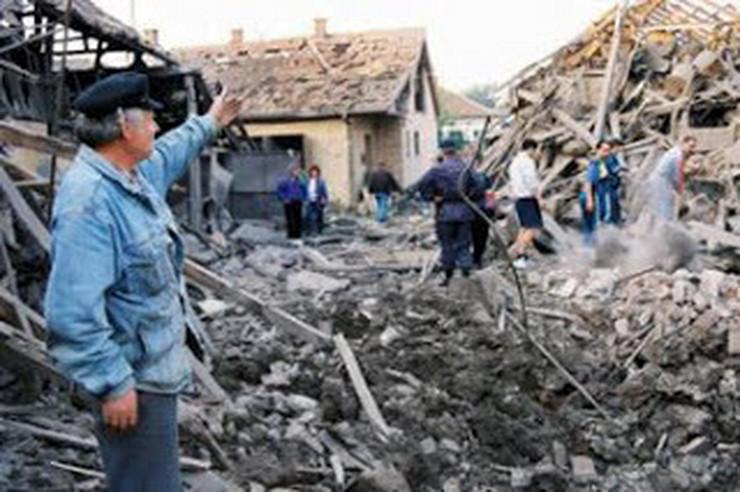 Ćuprija posle udara NATO