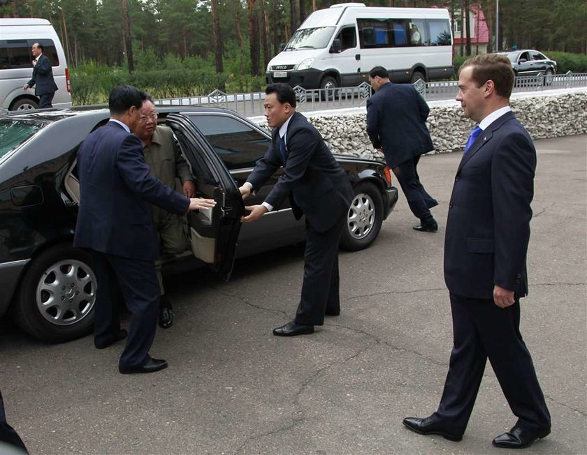 Dyktator w Rosji błagał o żywność