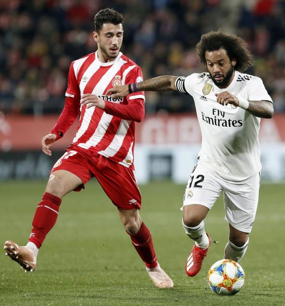 Detalj sa meča Real Madrida i Đirone