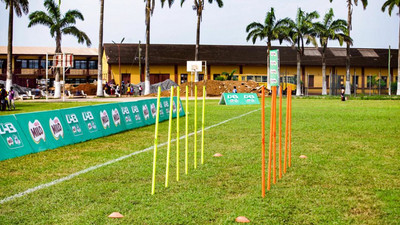 Milo U-13 Champions League: All set for Zone 3 as Augustine Arhinful leads soccer clinic