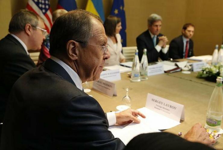 Česti sagovornici: Sergej Lavrov i Džon Keri