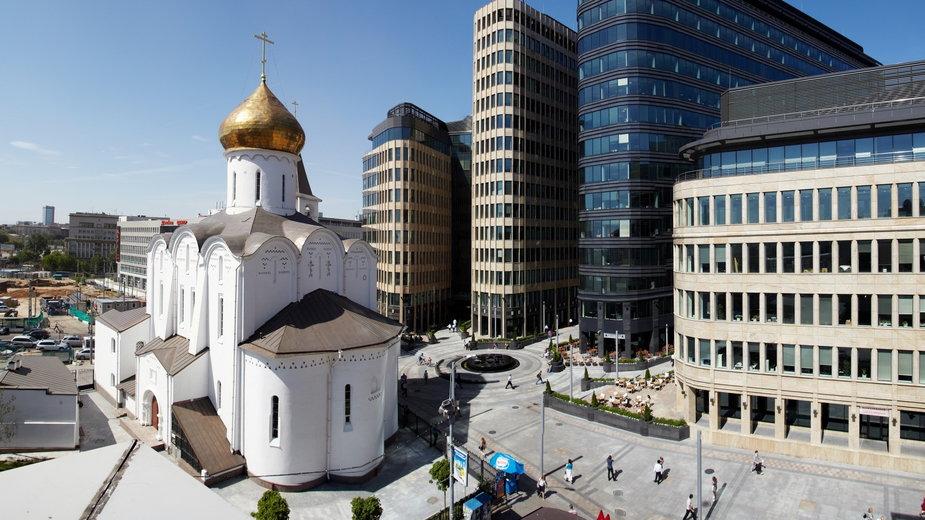 Biurowy kompleks w Moskwie od APA Wojciechowski z wyróżnieniem