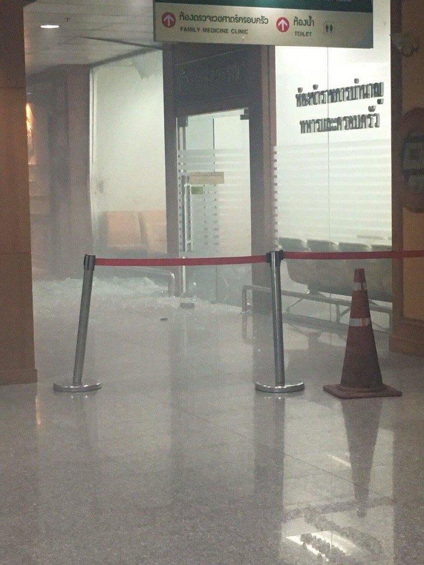 W szpitalu eksplodowała bomba. Wielu rannych
